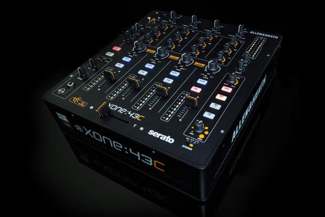 Allen & Heath announces Xone:43C mixer aimed at Serato DJ users