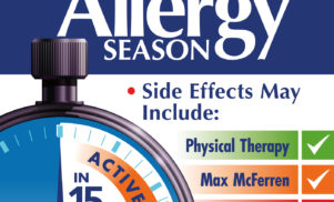 Physical Therapy teams with John Barera, Max McFerren and more for Allergy Season compilation