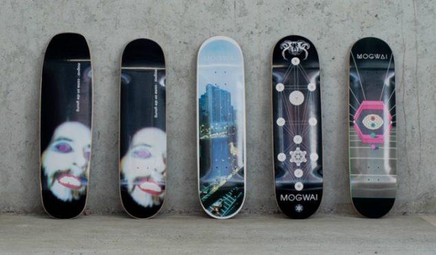 Mogwai have designed a range of skateboards