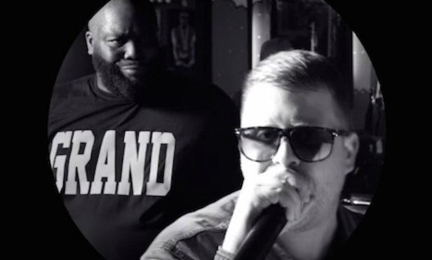 Watch Run the Jewels perform 'Pew Pew Pew' in Killer Mike's barbershop
