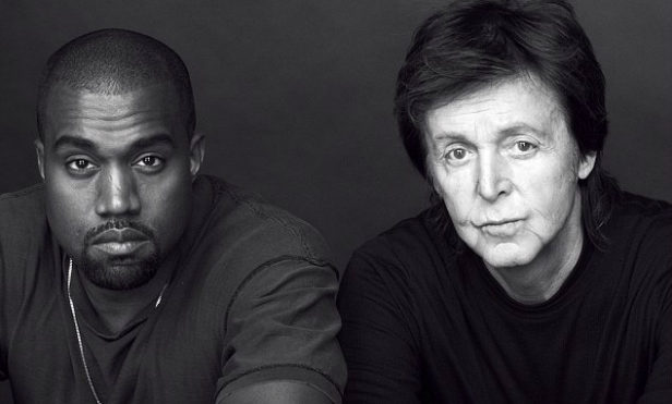 Paul McCartney played the melody to Kanye West's 'All Day' back in 1999