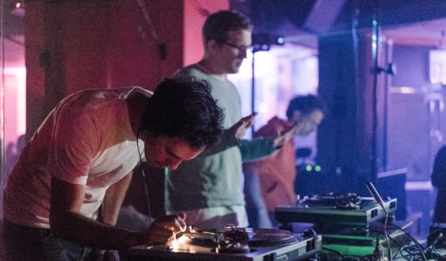 Photos: Four Tet and Floating Points at Brooklyn's Sugar Hill Disco