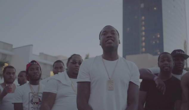 Watch Meek Mill rap over Drake's 'Energy' beat