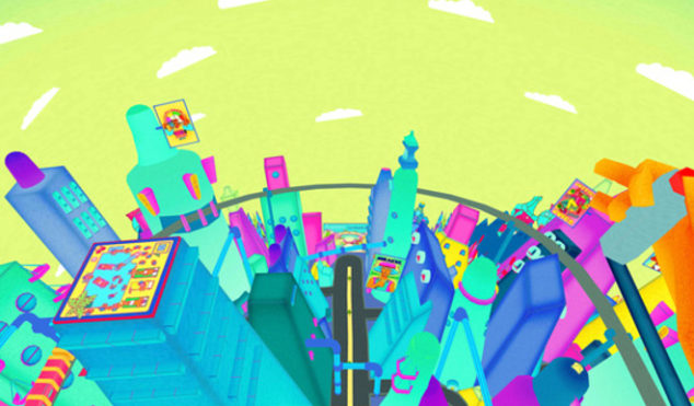 Jetpack through a psychedelic dystopia in Squarepusher's VR video for 'Stor Eiglass'