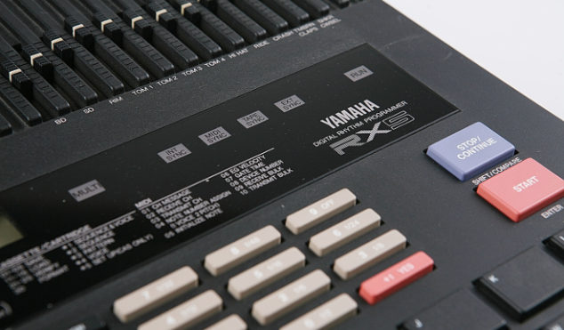 Sound like the Cocteau Twins with this free Yamaha RX5 drum machine plug-in