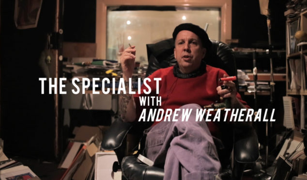 Watch Andrew Weatherall talk rockabilly in new Vinyl Factory series