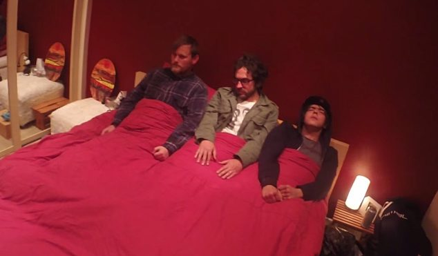 BEAK> unveil unsettling video for 'The Meader'
