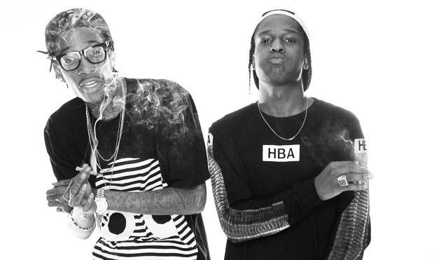A$AP Rocky and Wiz Khalifa announce UK tour