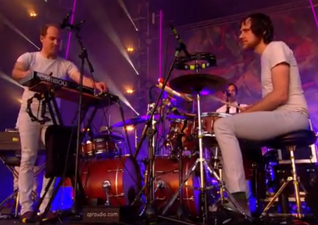 Watch Caribou perform 'I Can't Do Without You' at Glastonbury