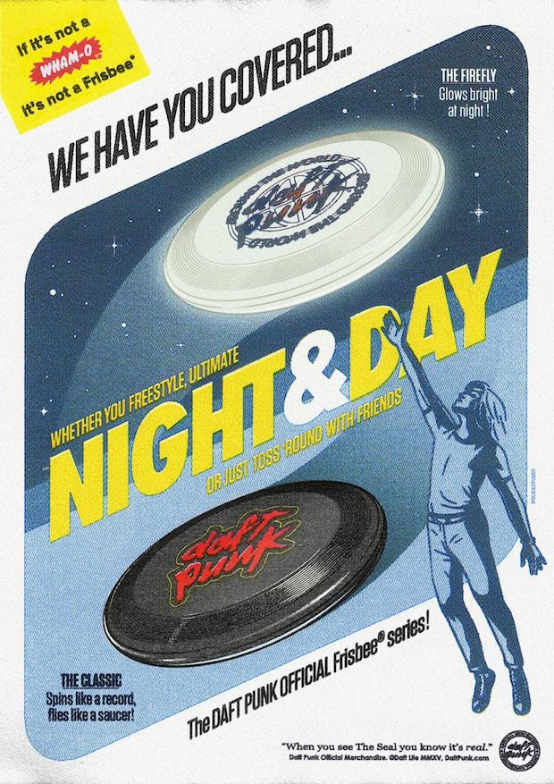 Daft Punk are now selling yo-yos, frisbees and caps
