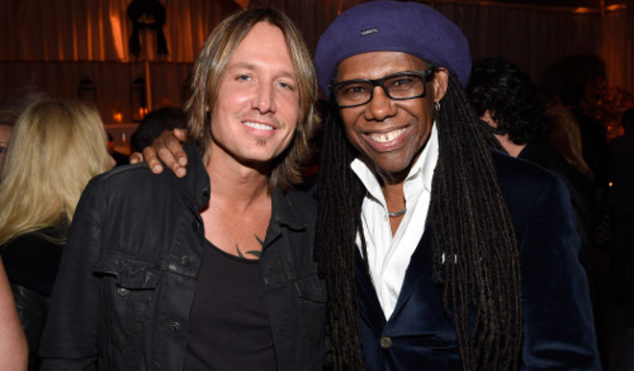 "Nile Rodgers is making an ""EDM-country"" record with Keith Urban"
