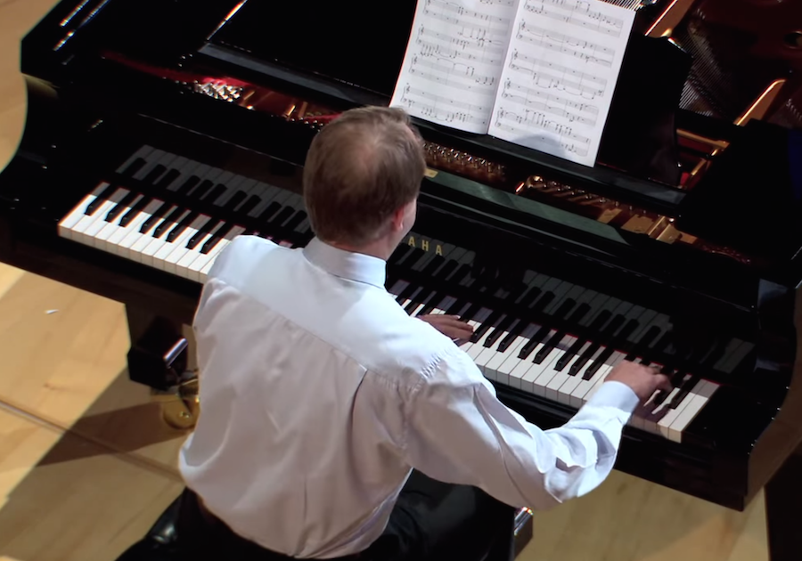 Hear The World S First Pattern Free Piano Sonata In Ted Talk