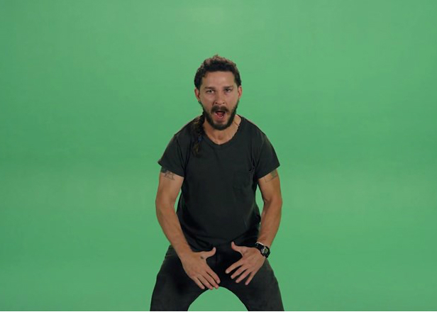 Watch Shia LaBeouf drop a hot freestyle