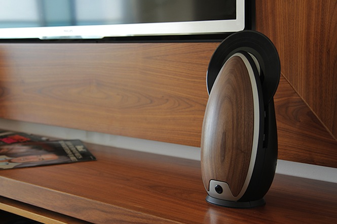 New Vertical Record Player Lets You Play Vinyl With A Remote