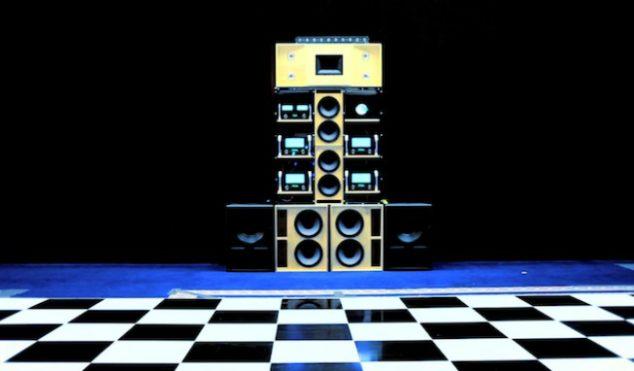 James Murphy and 2ManyDJs bring their Despacio soundsytem to London's Roundhouse