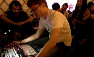 Hear Surgeon's live improvised set at Freerotation