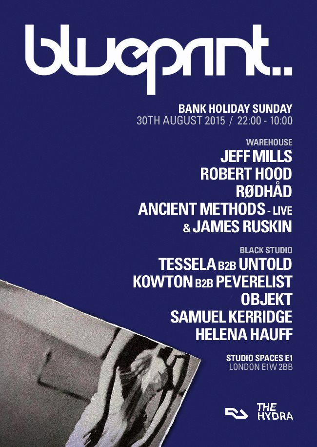 Blueprint and The Hydra assemble Jeff Mills, Robert Hood, Objekt and more for 12-hour bank holiday rave