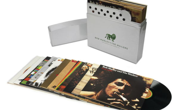 Bob Marley's complete Island recordings compiled in Zippo-shaped box set