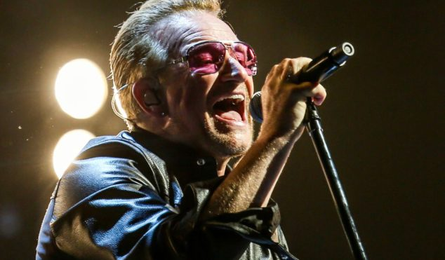 Woman who helped Bono after bike accident booed at U2 concert