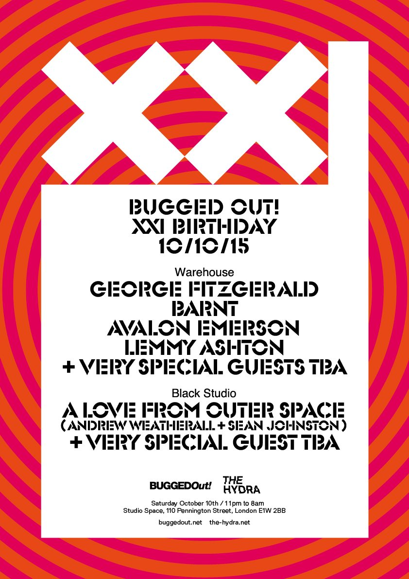 Bugged Out! celebrates 21 years with George Fitzgerald, Barnt and more