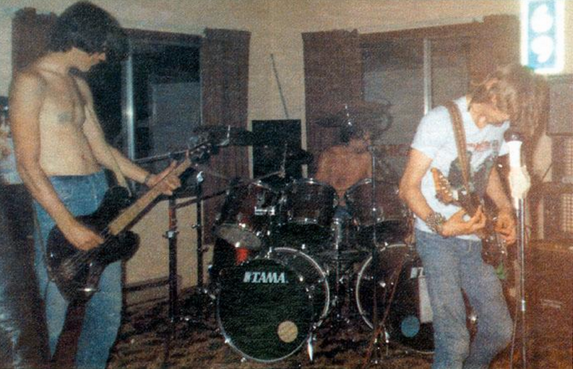 Teenager shares unseen photos of Nirvana's first ever gig in 1987