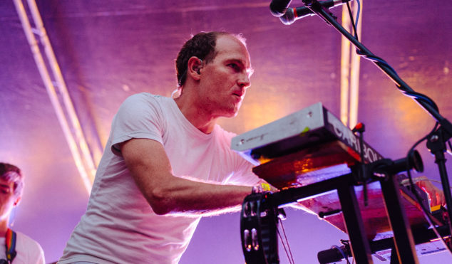 Watch Caribou play Summer Stage on New York's East River