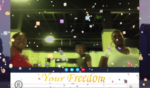 !!! announce tour and hop on Skype for 'Freedom '15' video