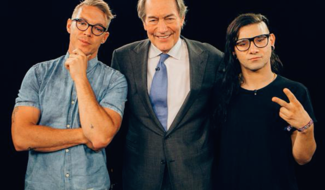 Diplo and Skrillex to be interviewed on Charlie Rose tonight