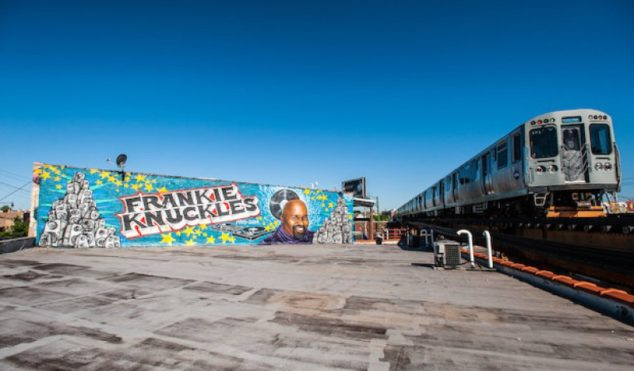 Frankie Knuckles tribute mural removed