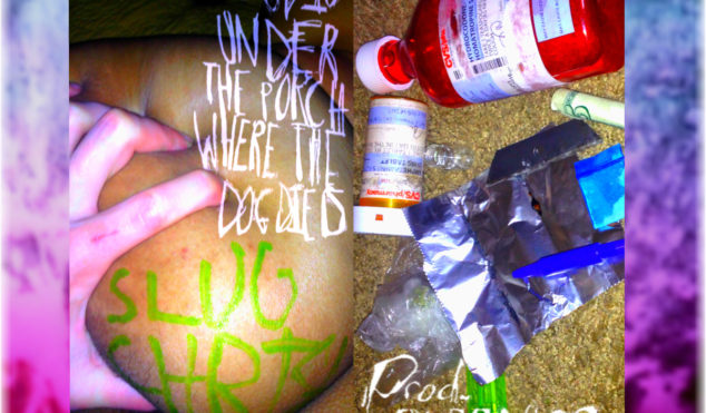Slug Christ teams with Purpdogg for God Is Under the Porch Where The Dog Died