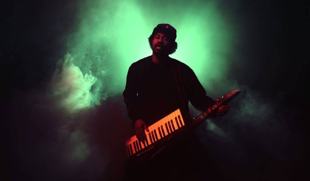 Dam-Funk is selling synths out of his car in Los Angeles today
