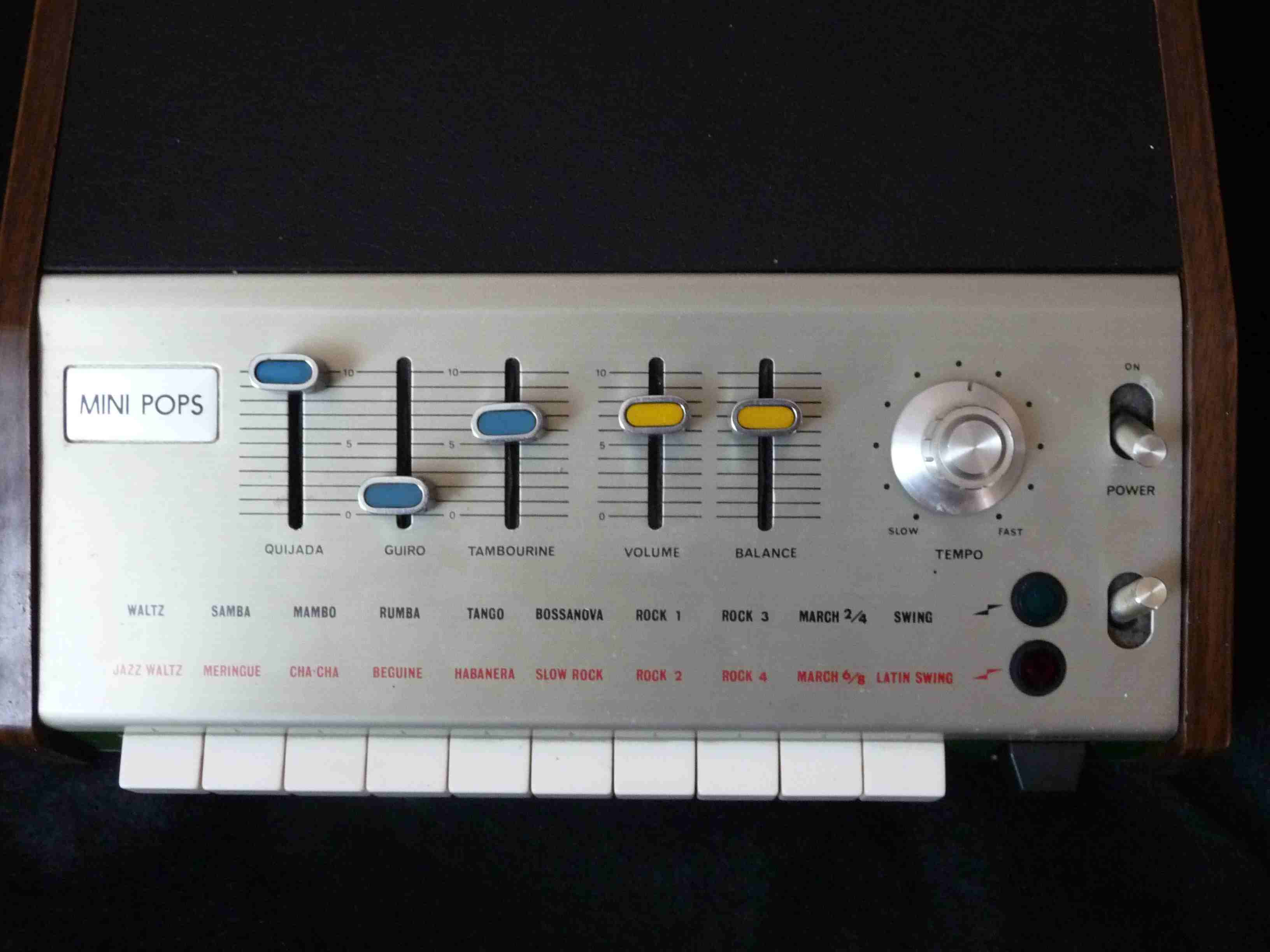 The 14 Drum Machines That Shaped Modern Music Circuit Shown Is Most Interesting Of Several Oscillators Mini Pops