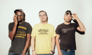 Mike Patton, Tunde Adebimpe and DoseOne unveil first track as Nevermen