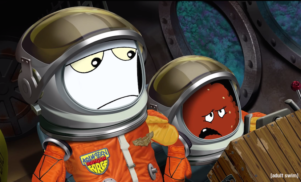 Hear Patti Smith's elegy for the Aqua Teen Hunger Force series finale