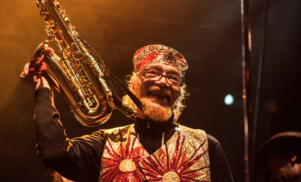 """""""Where can you go if you're in a box?"""": Marshall Allen of the Sun Ra Arkestra interviewed"""