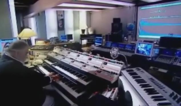 Check out Vangelis' custom MIDI setup
