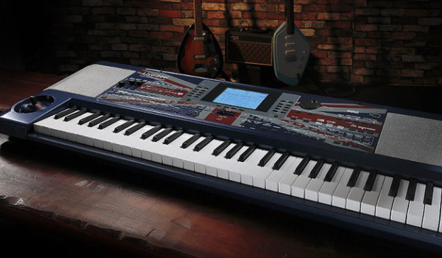 Korg has made a Beatles-themed keyboard called the Liverpool