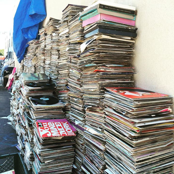 Thrift Store That Collapsed Under Weight Of Vinyl Having A