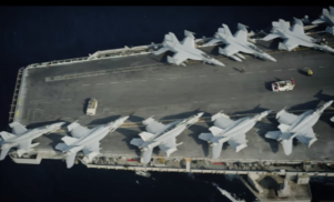 Ben Frost embeds on US aircraft carrier to score documentary –watch Bombing Isis