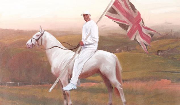 Artist paints grime MCs into historical British scenes