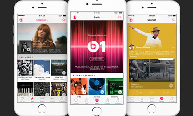 Apple Music has a third as many paid users as Spotify