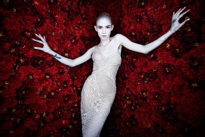Grimes says her next album is inspired by Bruce Springsteen and The Godfather