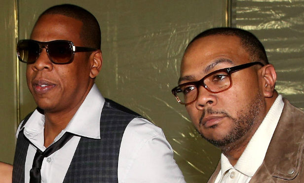 """Jay Z and Timbaland attend start of 'Big Pimpin"""" trial"""
