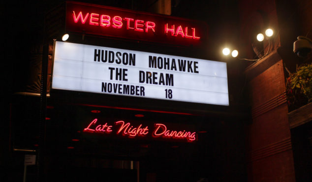 Photos: Hudson Mohawke and The-Dream live at Webster Hall, New York