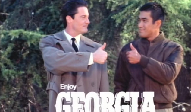 Revisit David Lynch's Twin Peaks-themed Japanese coffee ads from the 90s