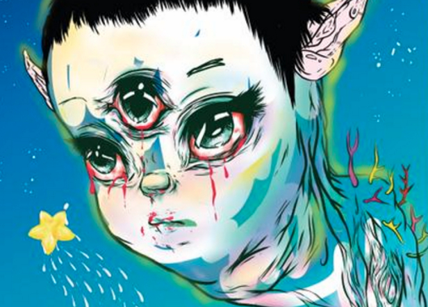 Hear the opening track from Grimes' Art Angels