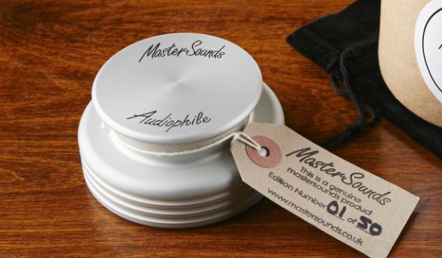 MasterSounds unveil deluxe turntable weight