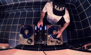 Watch Shiftee put on a turntablism clinic with 'Drop Top'