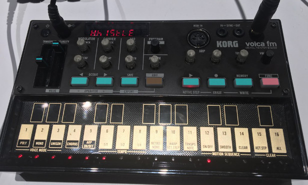 Korg reveals FM version of compact Volca synth
