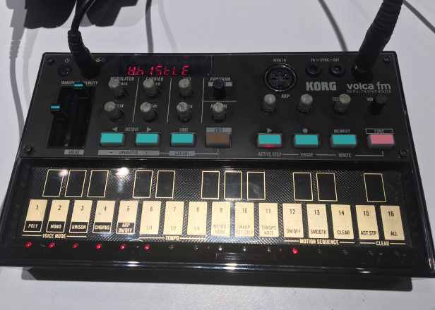 Korg reveals a compact FM version of the Volca synth